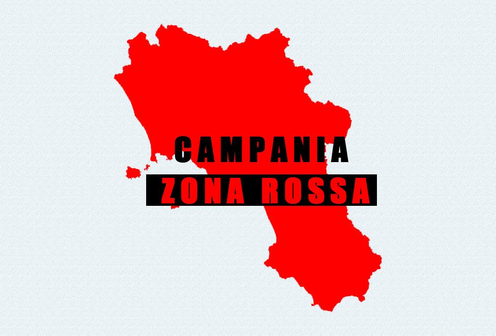 CAMPANIA ZONA ROSSA – Ordinanza del Ministero della Salute del 13/11/2020