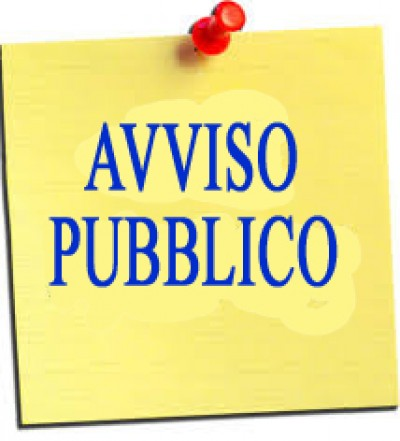 AVVISO PUBBLICO DI INDAGINE DI MERCATO