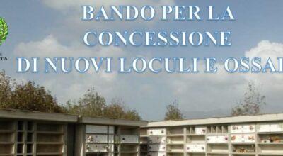 Bando concessione Loculi
